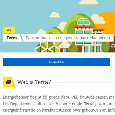 header website TERRA